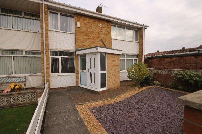 3 Bedrooms End Of Terrace House for sale in Fletcher Walk, Hartlepool