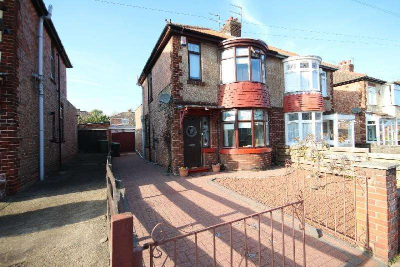 2 Bedrooms Semi Detached House for sale in Broomhill Gardens, Hartlepool
