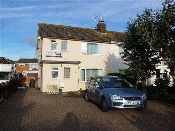 3 Bedrooms Semi Detached House for sale in 71 Glan Y Mor Rd, Penrhyn Bay, LL30 3PF
