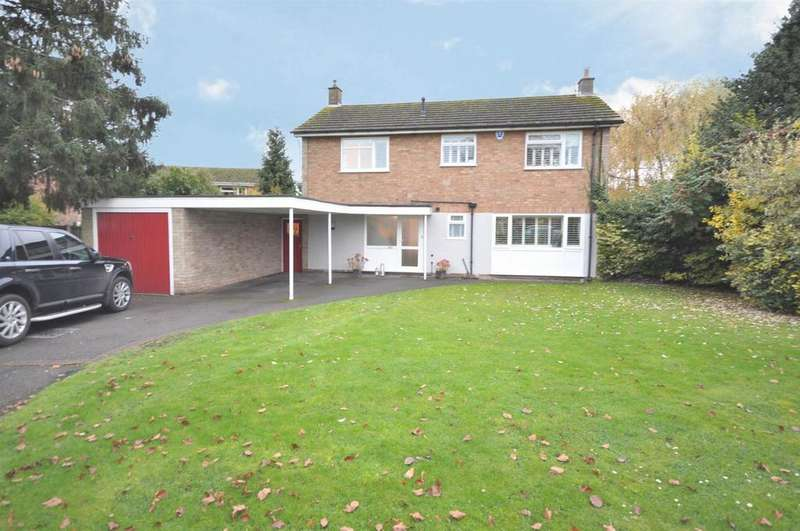 4 Bedrooms Detached House for sale in Moss Close, East Bridgford, Nottingham