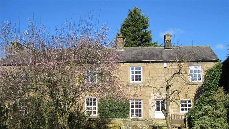 4 Bedrooms Detached House for sale in Knoll Farm House, The Knoll, Tansley, Matlock, Derbyshire, DE4