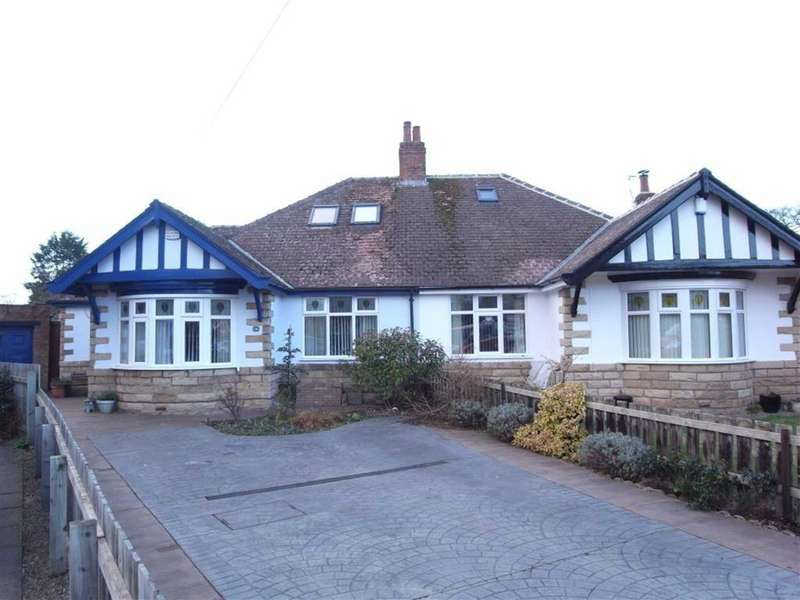 3 Bedrooms Semi Detached Bungalow for sale in Stonedale Crescent, Darlington