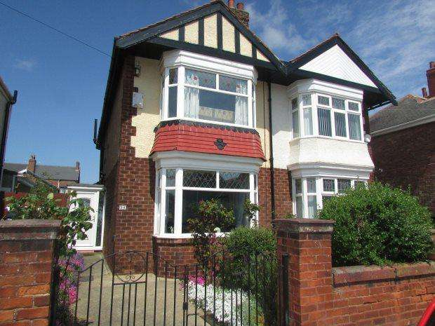 2 Bedrooms Semi Detached House for sale in WILTON AVENUE, PARK ROAD, HARTLEPOOL