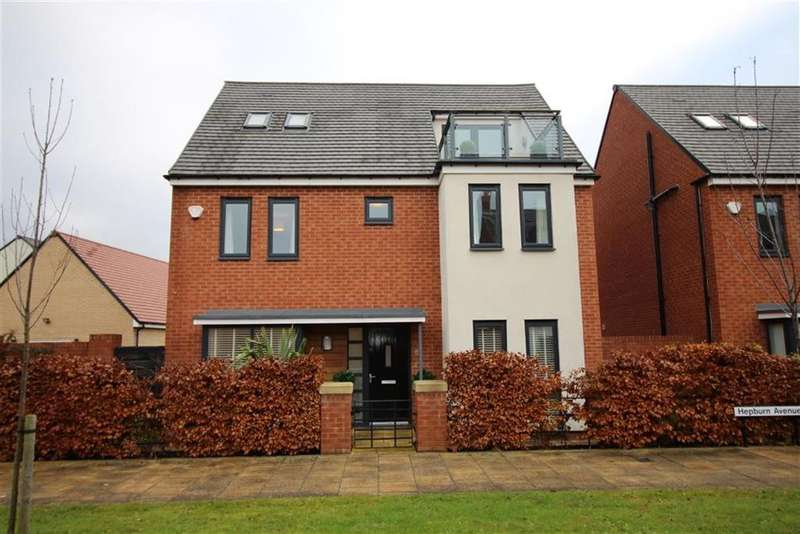 5 Bedrooms Detached House for sale in Hepburn Avenue, Newcastle Upon Tyne, NE13