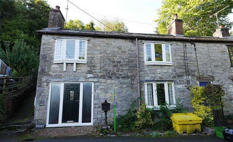 3 Bedrooms Cottage House for sale in Woodlands Road, Froncysyllte, Llangollen