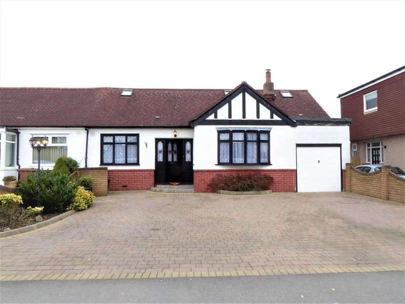 4 Bedrooms Semi Detached Bungalow for sale in Steynton Avenue, Bexley, Kent, DA5 3HG