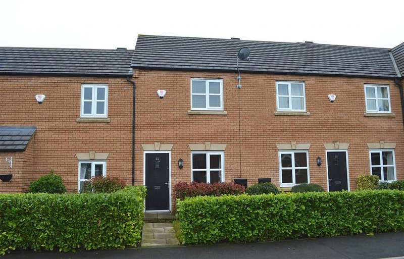 2 Bedrooms Terraced House for sale in Mill Pool Way, Sandbach