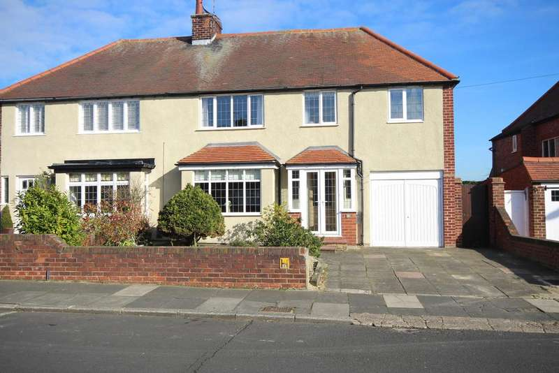4 Bedrooms Semi Detached House for sale in Longridge Drive, Whitley Lodge, Whitley Bay, NE26