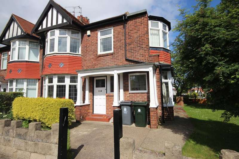3 Bedrooms Semi Detached House for sale in Cauldwell Lane, Monkseaton, Whitley Bay, NE25