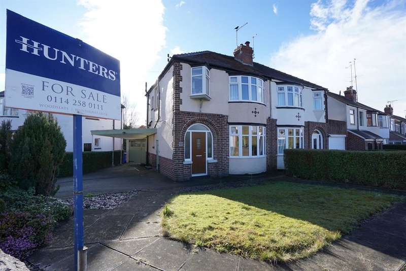 3 Bedrooms Semi Detached House for sale in Wingerworth Avenue, Greenhill, Sheffield S8 7ED