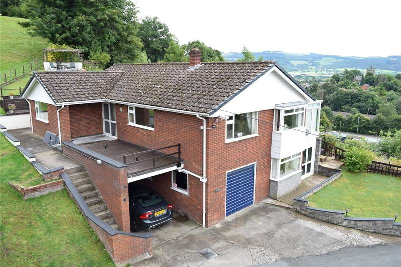 4 Bedrooms Detached Bungalow for sale in Stone Lane, Welshpool, Powys