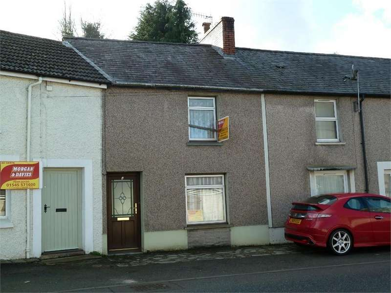 2 Bedrooms Terraced House for sale in Ebenezer Street, Newcastle Emlyn, Carmarthenshire