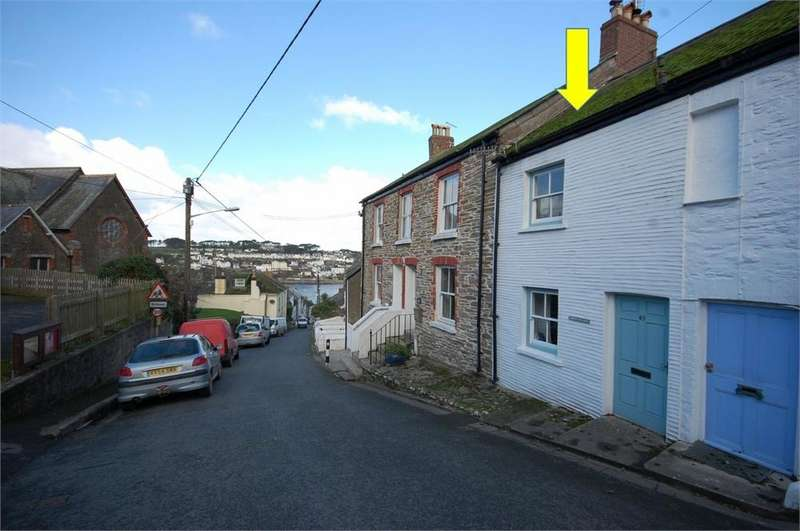 2 Bedrooms Cottage House for sale in 65 Fore Street, Polruan, Fowey, Cornwall