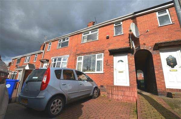 3 Bedrooms Terraced House for sale in Lincoln Road, Burslem, Stoke-On-Trent