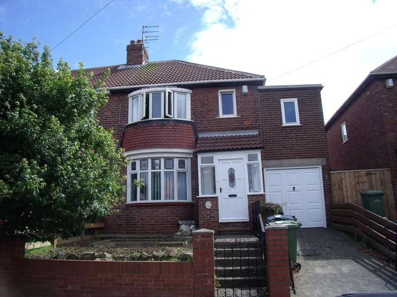 4 Bedrooms Semi Detached House for sale in Dykelands Road, Seaburn