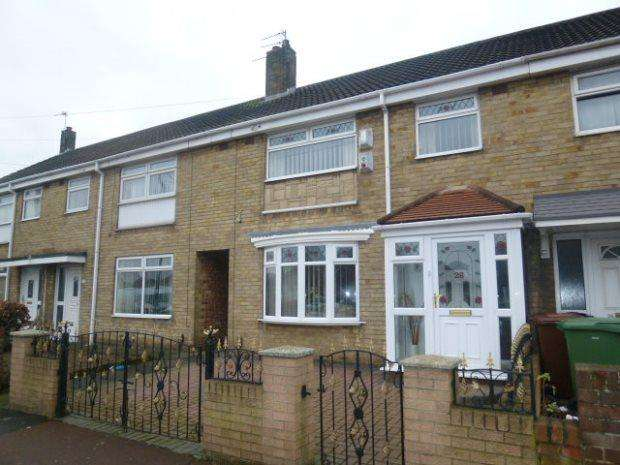 3 Bedrooms Terraced House for sale in CATCOTE ROAD, HARTLEPOOL, HARTLEPOOL