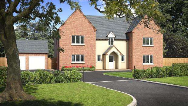5 Bedrooms Detached House for sale in Tedsmore Grange, Plot 2, West Felton, Oswestry