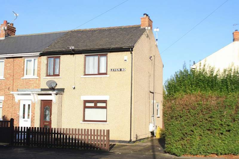 3 Bedrooms Semi Detached House for sale in Leven Road, Norton, TS20