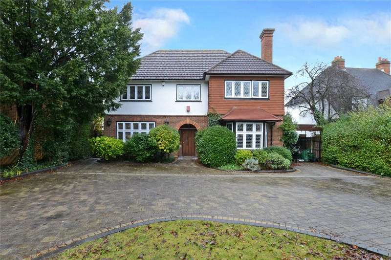 5 Bedrooms Detached House for sale in The Crescent, Belmont, Sutton, Surrey, SM2