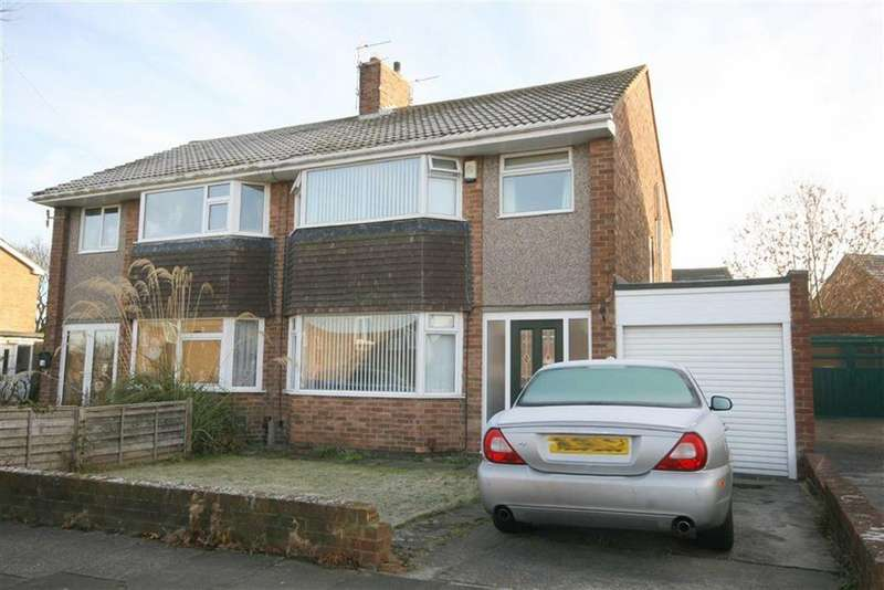 3 Bedrooms Semi Detached House for sale in Otterburn Avenue, West Monkseaton, Tyne Wear, NE25