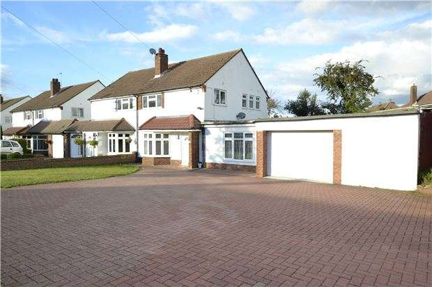3 Bedrooms Semi Detached House for sale in Hillcrest Road, ORPINGTON, Kent, BR6 9AG