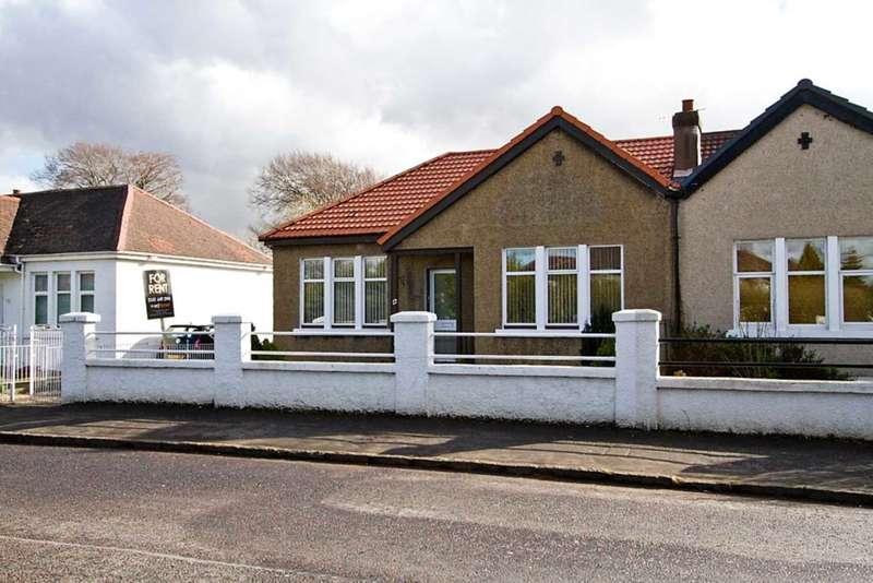 3 Bedrooms Semi Detached Bungalow for rent in Glenside Drive, Rutherglen