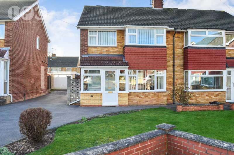 4 Bedrooms Semi Detached House for sale in Marlston Walk, Allesley Park, Coventry, CV5