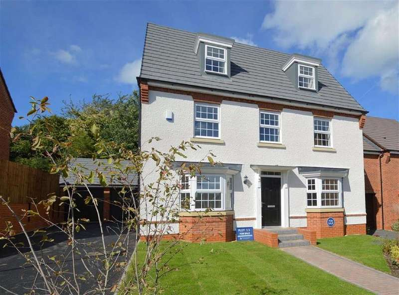 5 Bedrooms Detached House for sale in Montgomery Place, Oswestry, Morda Oswestry