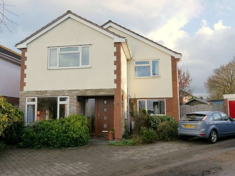 4 Bedrooms Detached House for sale in Kingland Drive, Leamington Spa