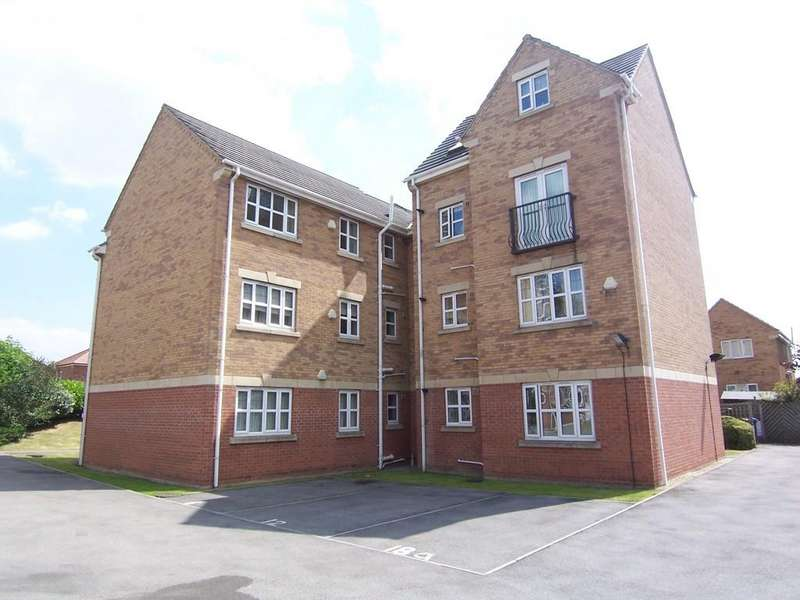 2 Bedrooms Apartment Flat for sale in Bellmer Close, Monk Bretton, Barnsley S71