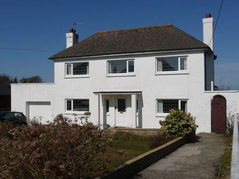 3 Bedrooms Detached House for sale in SaddlePoint, Sladeway, Fishguard, Pembrokeshire
