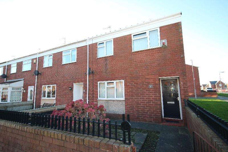 3 Bedrooms End Of Terrace House for sale in Mason Walk, Hartlepool