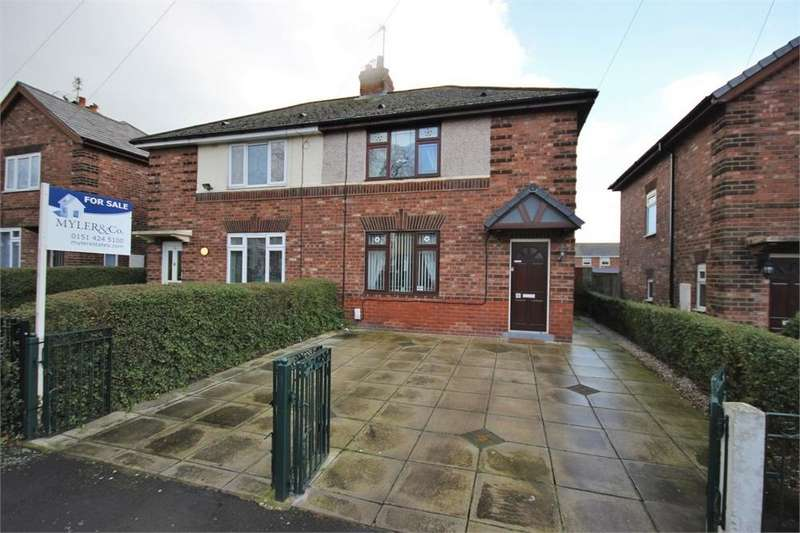 3 Bedrooms Semi Detached House for sale in Brunner Road, WIDNES, Cheshire