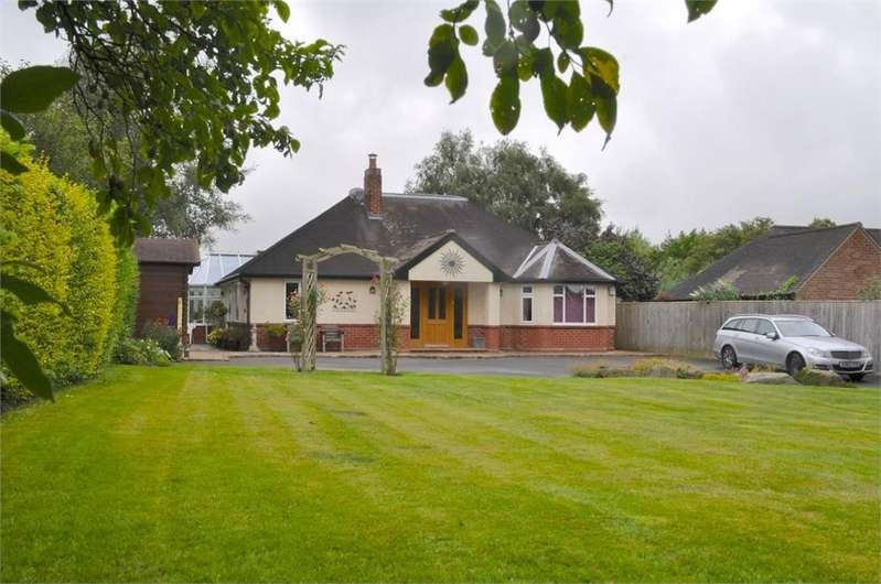 3 Bedrooms Detached Bungalow for sale in Forest Street, Weaverham, Northwich, Cheshire