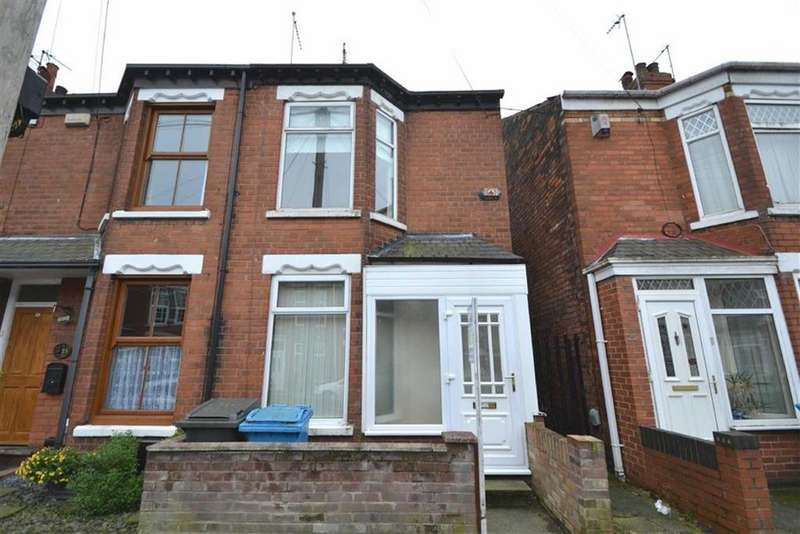 2 Bedrooms End Of Terrace House for sale in Wharncliffe Street, Princes Avenue, Hull, HU5