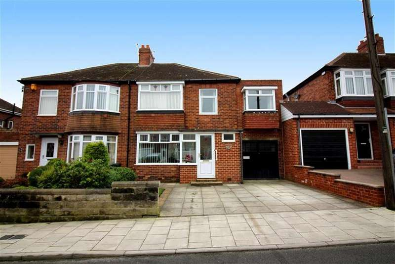 5 Bedrooms Semi Detached House for sale in Vancouver Drive, Newcastle Upon Tyne, NE7