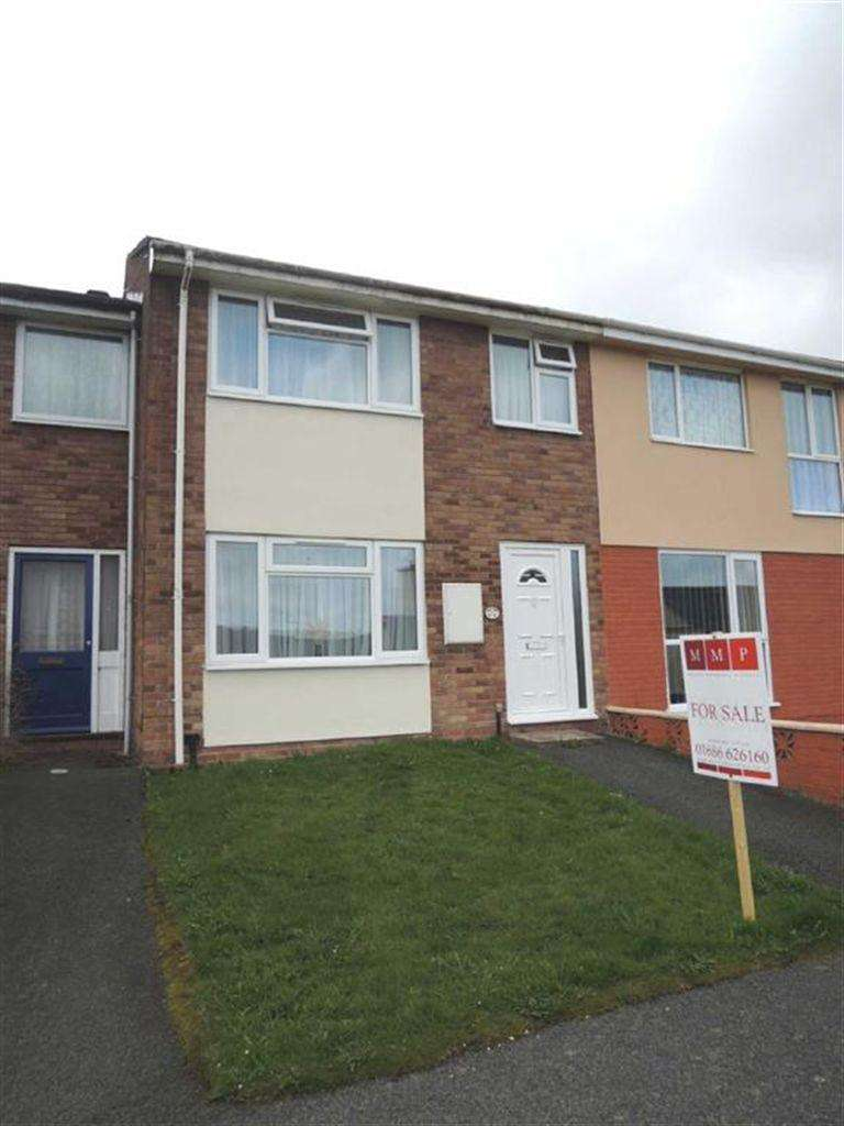 3 Bedrooms Terraced House for sale in 11, Brimmon Close, Newtown, Powys, SY16