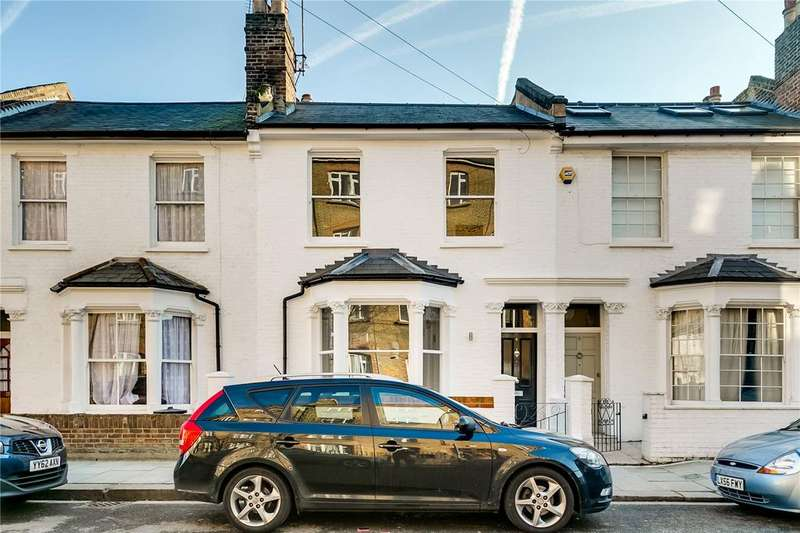 3 Bedrooms Terraced House for sale in Yeldham Road, Hammersmith, London