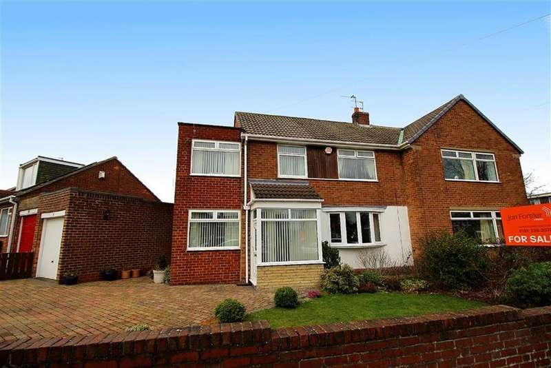 4 Bedrooms Semi Detached House for sale in Meldon Avenue, Newcastle Upon Tyne, NE3