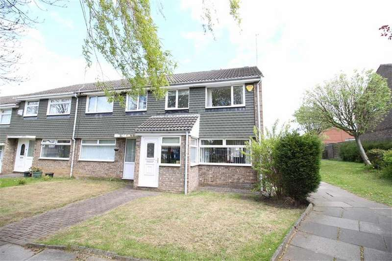 3 Bedrooms End Of Terrace House for sale in Cowdray Court, Newcastle Upon Tyne, NE3
