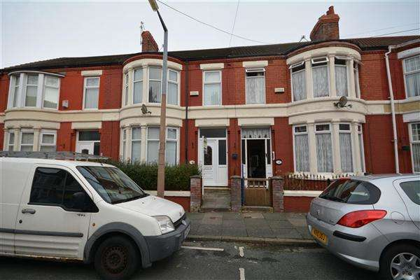 3 Bedrooms Terraced House for sale in Alverstone Avenue, Claughton