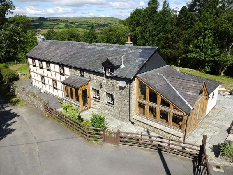 4 Bedrooms Barn Conversion Character Property for sale in St. Harmon, Rhayader, Powys