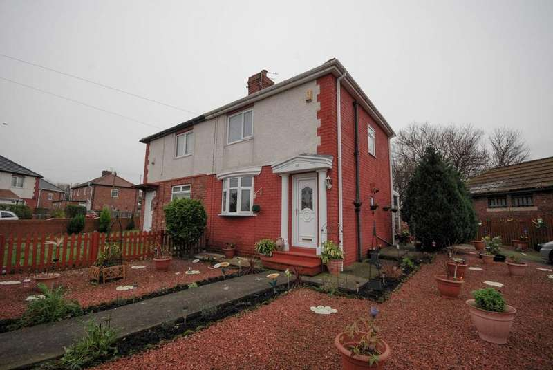 2 Bedrooms Semi Detached House for sale in Finchale Terrace, Jarrow