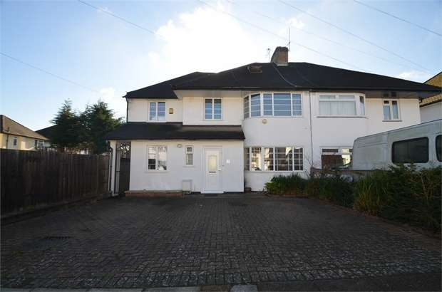 5 Bedrooms Semi Detached House for sale in Mill Ridge, Edgware, Greater London