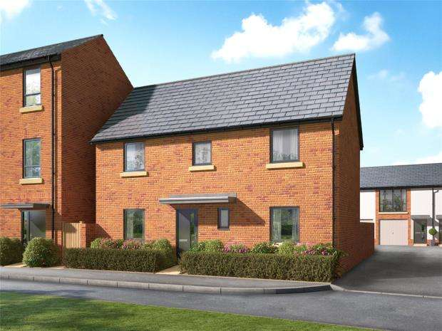 3 Bedrooms Detached House for sale in Meldon Fields, Okehampton, Devon