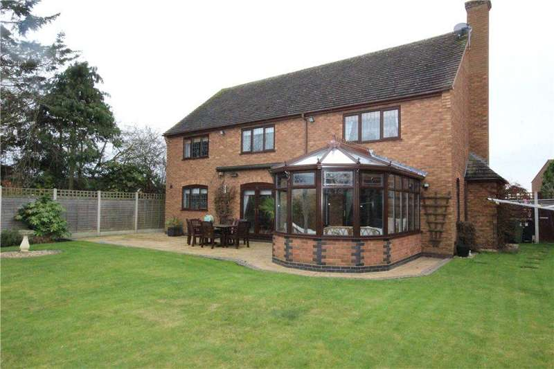 5 Bedrooms Detached House for sale in Mill Lane, Wadborough, Worcester, Worcestershire, WR8