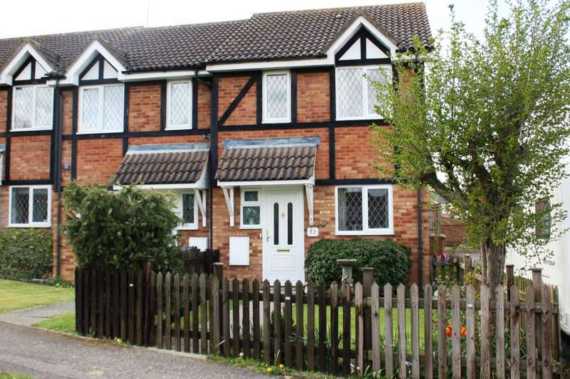 2 Bedrooms End Of Terrace House for sale in Shearwater Close, Stevenage