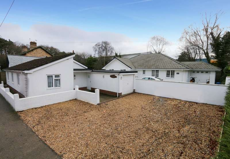 3 Bedrooms Detached Bungalow for sale in Old Newton Road, Heathfield