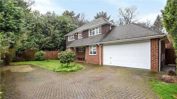 4 Bedrooms Detached House for sale in Brockenhurst Road, Bracknell, Berkshire