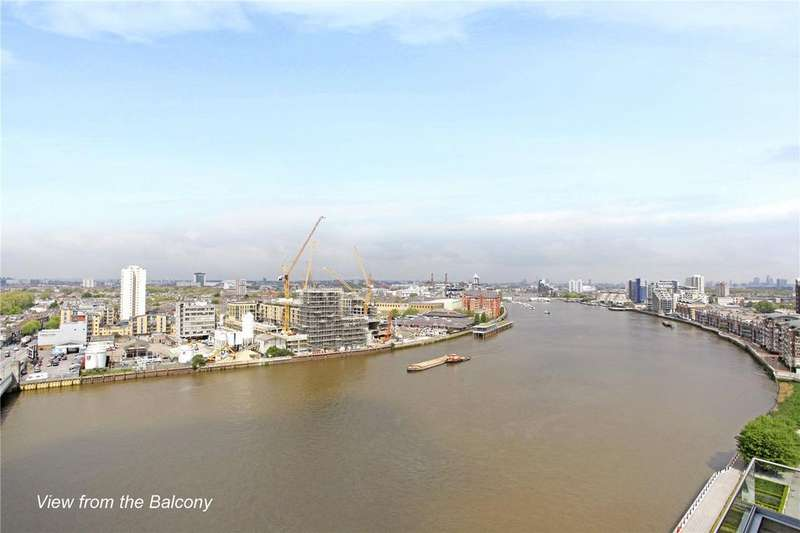 3 Bedrooms Flat for sale in Ascensis Tower, Juniper Drive, Wandsworth, London